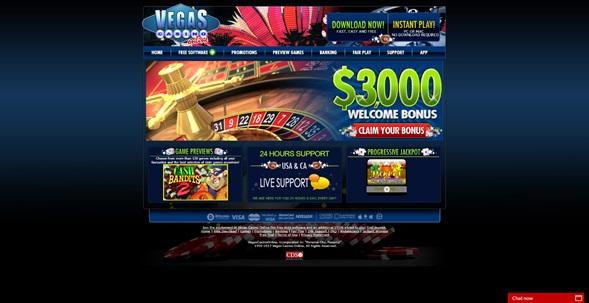Aspectos negativos en la plataforma de VegasCasino