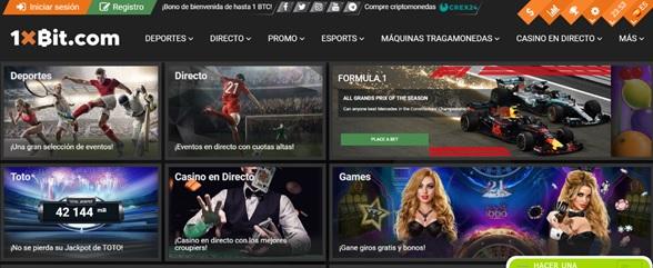 Plataforma online de 1xbit