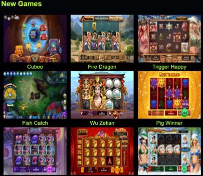Preview games Vegas Casino online