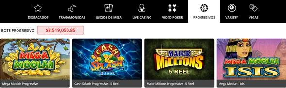 Progresivos Royal Vegas Casino